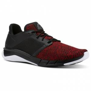 Reebok Print Run 3.0 Men's Running Shoes in Black / Primal Red