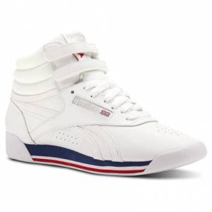 Reebok Freestyle Hi Women's Fitness, Lifestyle Shoes in Retro / White
