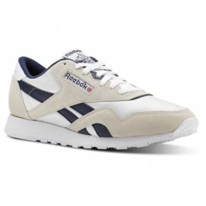 Reebok Classic Nylon Archive Men's Retro Running, Lifestyle Shoes in White