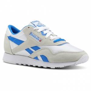 Reebok Classic Nylon Archive Women's Retro Running, Lifestyle Shoes in White