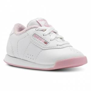 Reebok PRINCESS Fitness Toddler Shoes in White / Light Pink