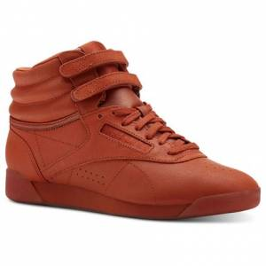 Reebok Freestyle Hi Women's Fitness Shoes in Mars Dust