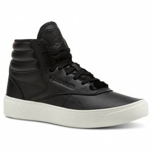 Reebok Freestyle Hi Nova Women's Fitness, Lifestyle Shoes in Black