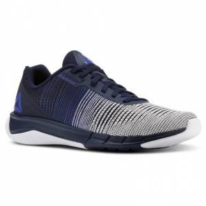 Reebok Men's Running Shoes Fast Flexweave™ in Acid Blue / Collegiate Navy / White