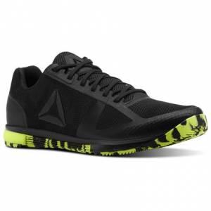 Reebok Speed TR Men's Training Shoes in Black / Solar Yellow