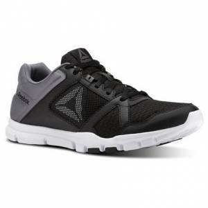 Reebok Yourflex Train 10 Men's Training Shoes in Black / Shark