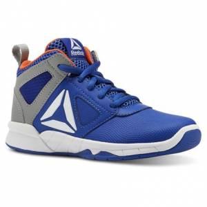 Reebok Royal Dash N Drill - Pre-School Kids Basketball Shoes in Blue
