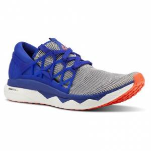 Reebok Floatride Run Flexweave® Men's Running Shoes in White / Blue