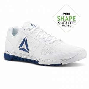 Reebok Speed TR Men's Training Shoes in White / Bunker Blue