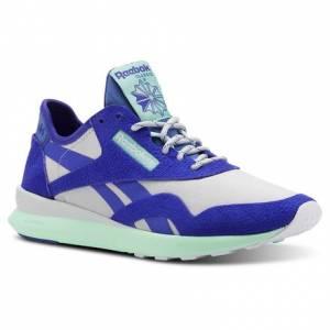 Reebok Women's Running Shoes Classic Nylon in Spirit White / Purple
