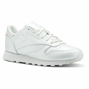 Reebok Classic Leather Women's Retro Running, Lifestyle Shoes in Opal