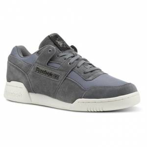 Reebok Workout Plus Men's Training Shoes in Grey