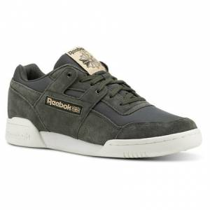 Reebok Workout Plus Men's Training Shoes in Dark Green