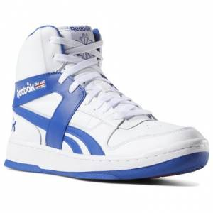 Reebok BB 5600 ARCHIVE Men's Basketball Shoes in White / Blue