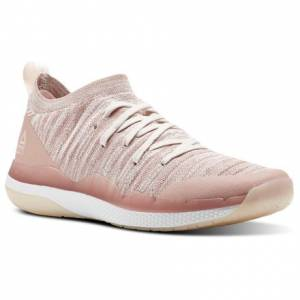 Reebok Ultra Circuit TR ULTK LES MILLS Women's Studio Shoes in Chalk Pink