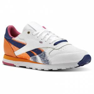 Reebok Classic Leather Montana Men's Lifestyle Shoes in White / Marine
