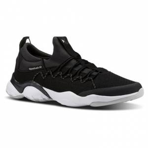 Reebok DMX Fusion Lite Unisex Retro Running Shoes in Black
