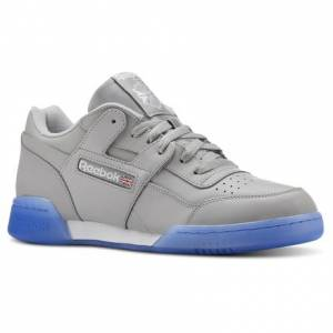 Reebok Workout Plus Men's Fitness, Lifestyle Shoes in Stark Grey