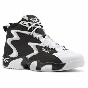 Reebok Mobius OG MU Unisex Basketball, Lifestyle Shoes in Black / White