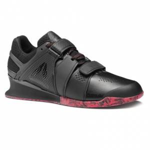 Reebok Legacy Lifter Men's Training Shoes in Black / Primal Red