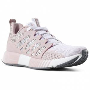 Reebok Fusion Flexweave Cage Women's Running Shoes in Pink