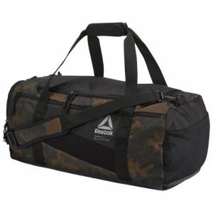 Reebok Graphic Men's Training Duffle Bag in Army Green / Camo