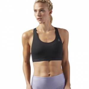Reebok Hero High Impact Women's Studio Sports Bra in Black