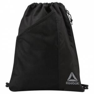Reebok Workout Training Gymsack in Black