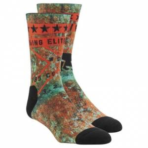 Reebok CrossFit Graphic Men's Training Socks in Turquoise