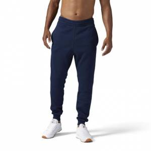 Reebok Classics Franchise Fleece Jogger Men's Sweatpants in Collegiate Navy