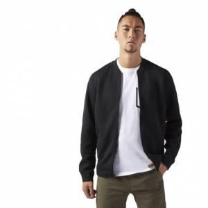 Reebok Training Supply Varsity Men's Jacket in Black
