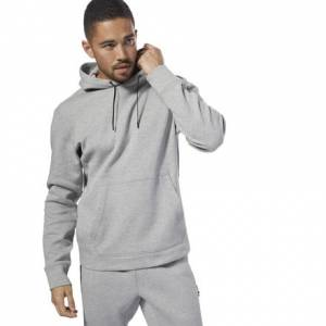 Reebok CrossFit Men's Training Double Knit Hoodie in Grey