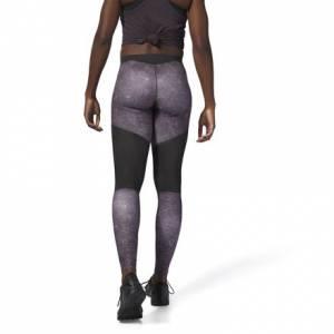 Reebok CrossFit Comp Tights AOP Women's Training Leggings in Smoky Volcano