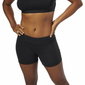 Reebok CrossFit Women's Training Chase Bootie Shorts in Black