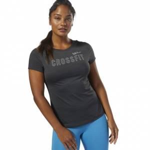 Reebok CrossFit ACTIVCHILL Women's Training Tee in Coal