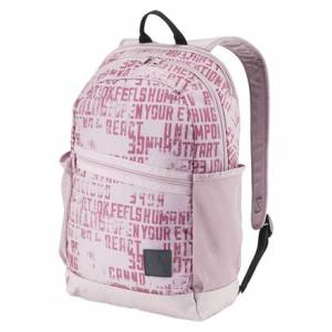 Reebok Style Foundation Active Graphic Unisex Training Backpack in Infused Lilac