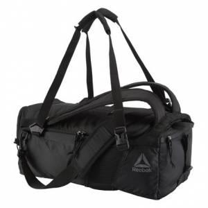 Reebok Active Enhanced Convertible Training Grip Bag in Black