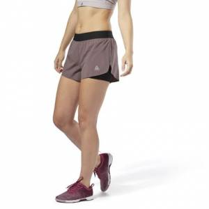 Reebok Women's Training Epic Shorts in  Almost Grey