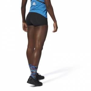 Reebok CrossFit Chase Shortie Women's Training Shorts in Black