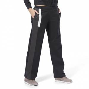 Reebok Classics Advanced Women's Casual, Lifestyle Track Pants in Black
