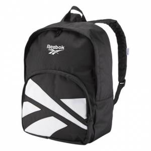 Reebok Lost & Found Vector Casual, Lifestyle Backpack in Black