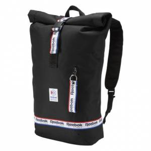 Reebok Classics Graphic Taping Backpack in Black