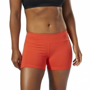 Reebok CrossFit Women's Training Chase Bootie Shorts in Carotene
