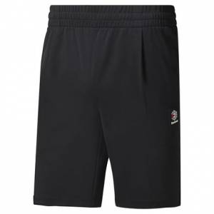 Reebok Classics Men's Casual, Lifestyle Advanced Shorts in Black