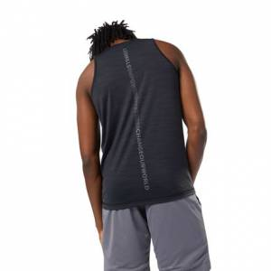 Reebok LES MILLS™ Men's Studio ACTIVCHILL Tank Top in Black