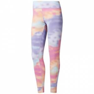 Reebok Women's Training Lux Leggings in Pink