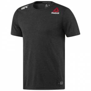 Reebok UFC FK BLANK JERSEY U Men's Combat T-Shirt in Black