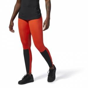 Reebok CrossFit Women's Training Compression Tights Leggings in Carotene