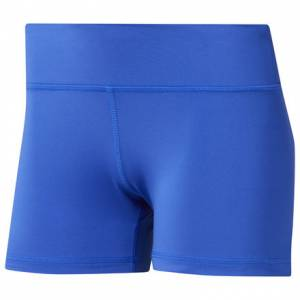 Reebok CrossFit® Lux Women's Training Fade Bootie Shorts in Blue