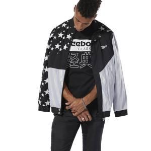 Reebok Men's Hush Track Jacket in Black